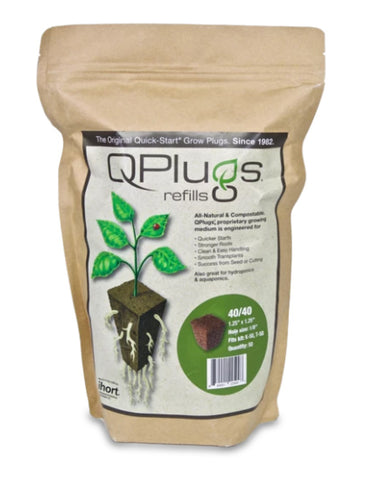 Q Plug refill package