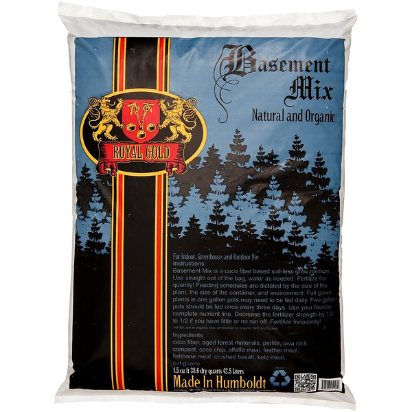 Royal Gold Soil - Basement Mix - Royal Gold - Left Coast Wholesale