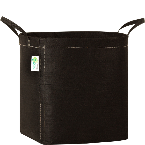 G-Lite Fabric Pots - Black with Handles - G-Lite - Left Coast Wholesale