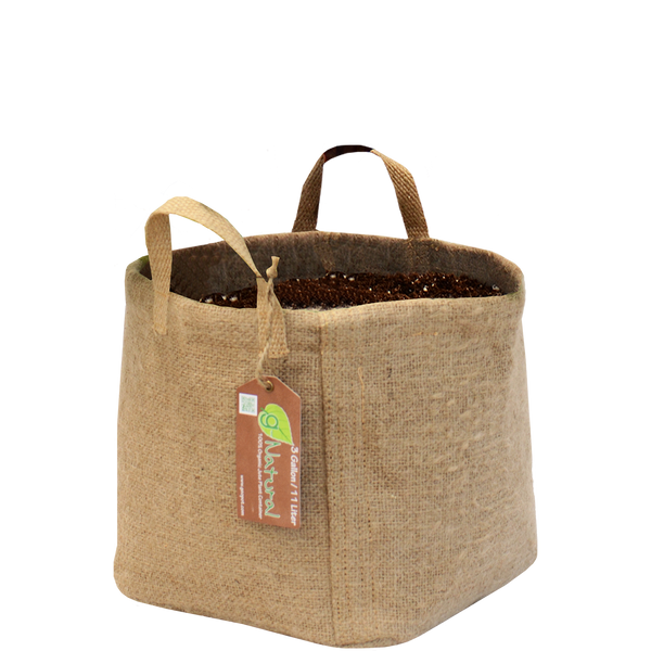 GeoPot Fabric Pots - G-Natural - GeoPot - Left Coast Wholesale