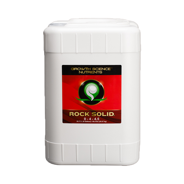 Growth Science® Nutrients - Rock Solid® - Growth Science - Left Coast Wholesale