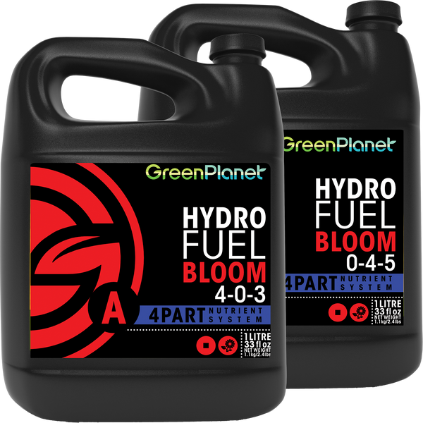 Green Planet Nutrients - Hydro Fuel Bloom A/B - Green Planet Nutrients - Left Coast Wholesale