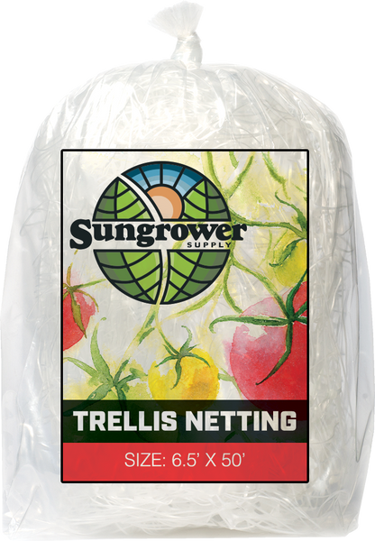 Sungrower Supply - Trellis Netting - Left Coast Wholesale - Left Coast Wholesale