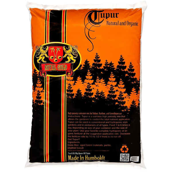Royal Gold Soil - Tupur Mix - Royal Gold - Left Coast Wholesale