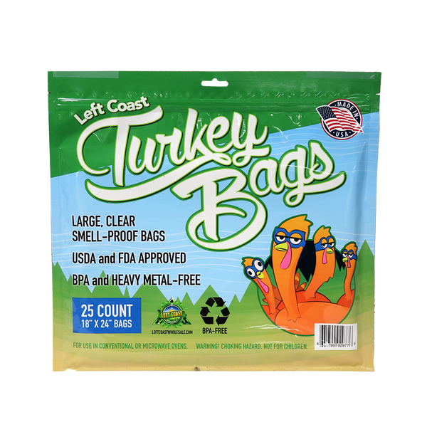 Left Coast Turkey Bags - Nylon Storage Bags