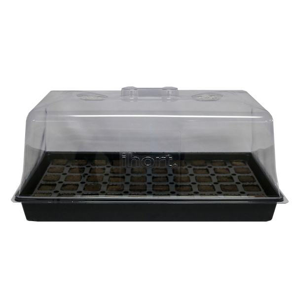 "iHort Propagation Supplies - 7"" Humidity Dome w/ Vents - iHort Propagation Supplies - Left Coast Wholesale"