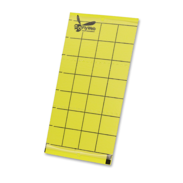 FlyWeb - Insect Monitor Sticky Cards - Fly Web - Left Coast Wholesale