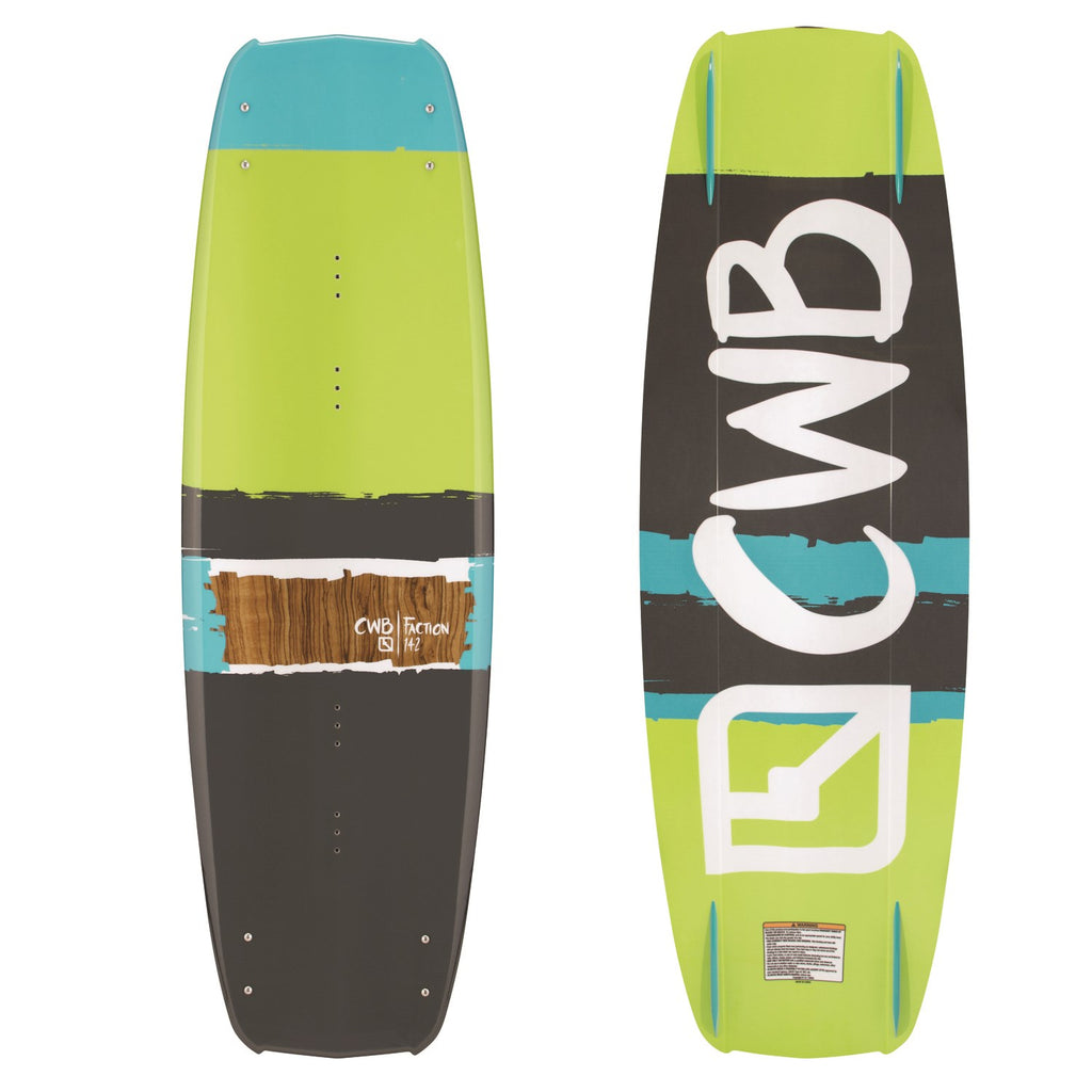 CWB Faction 137 Wakeboard 2017