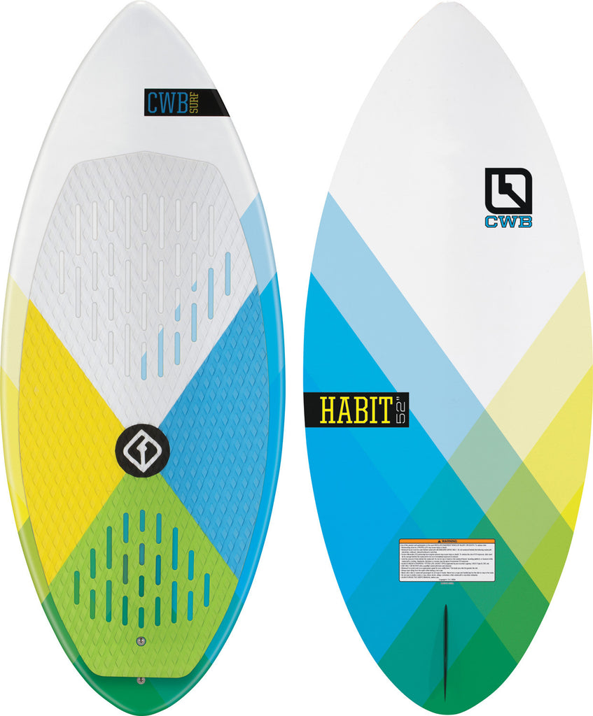 CWB Habit Wake Surf Board 2017