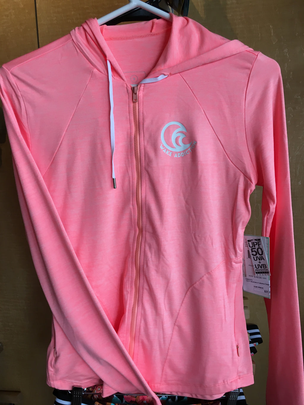 Wake Addiction Women's Performance Zip Hoodie - pullwatersports.com