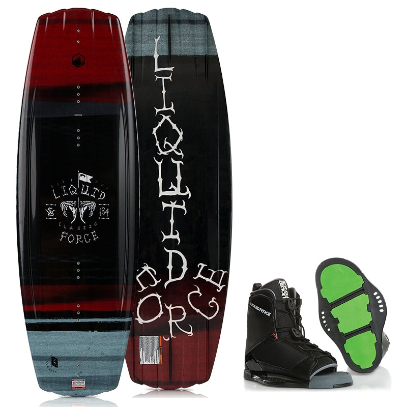 Liquid Force Classic Wakeboard With Transit Boots 2019