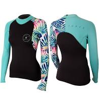 LIQUID FORCE ECO SUIT 2MM NEO TOP WOMENS