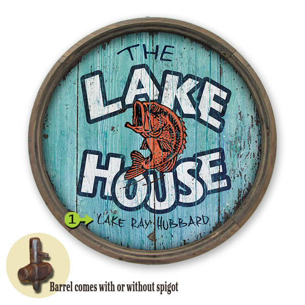 """WELCOME TO THE LAKE HOUSE"" CUSTOM SIGN"
