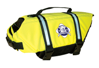 PAWS Aboard Pet Life Jacket - Yellow