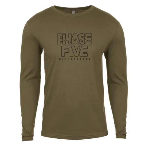PHASE FIVE OUTLINE LONG SLEEVE SHIRT