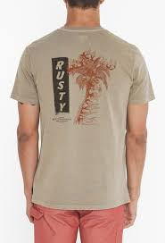 RUSTY AERIAL T Shirt Fennel