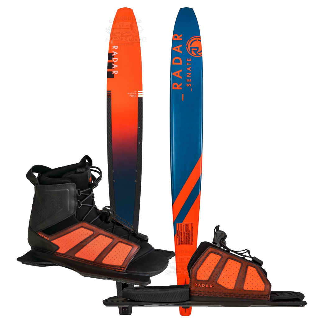 Radar Senate Alloy W/ Vector Boot and Rear Toe Plate 2019