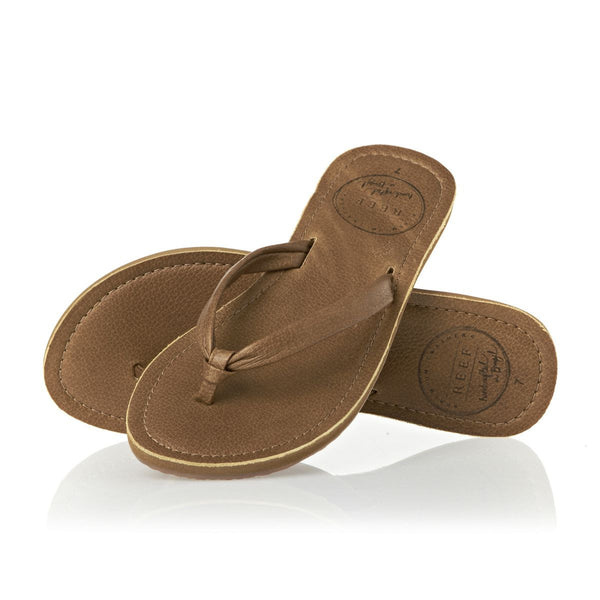 Reef Creamy Leather Womens Sandals