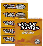 STICKY BUMPS TROPICAL /WARM SURF BOARD WAX