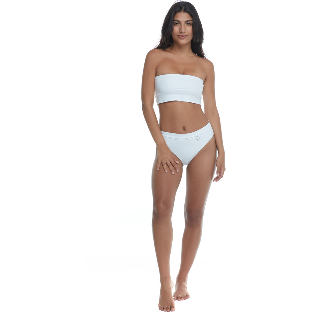 Smoothies Sunrise Tube Swim Top - Snow