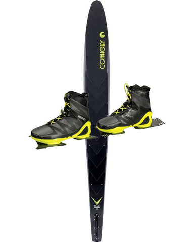 Connelly Carbon V 2017 Slalom Ski with Double Sync Boots