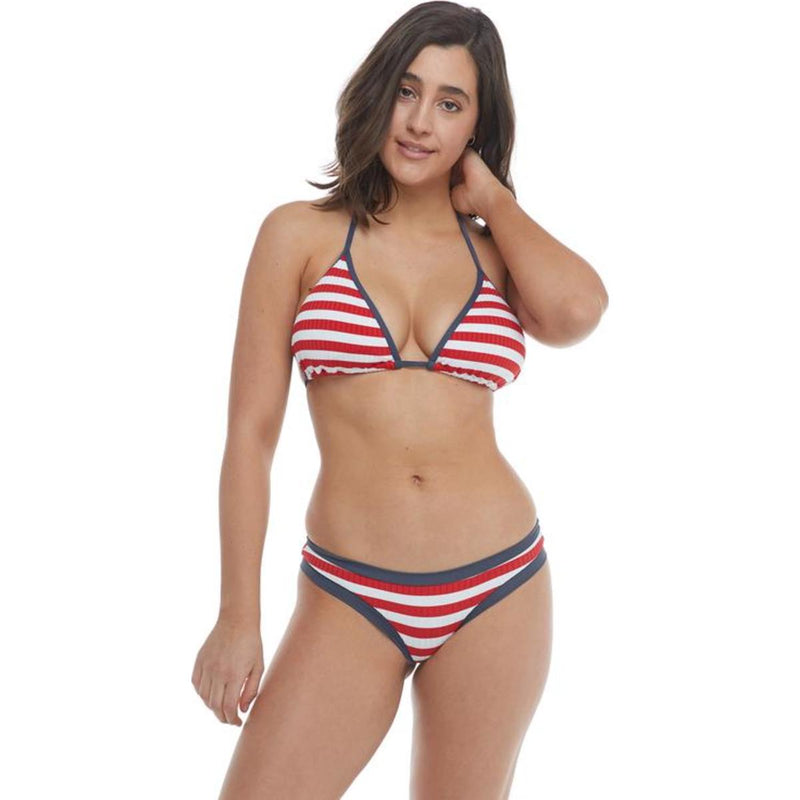 Coastline Dita D-Cup Triangle Bikini Top - True