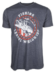 FLW Americana Bass Fishing Tee shirt