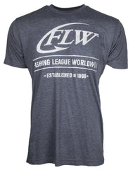 FLW Established Tee shirt bass fishing tournaments Fishing League Worldwide
