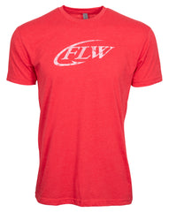 Red FLW Short Sleeve Tee