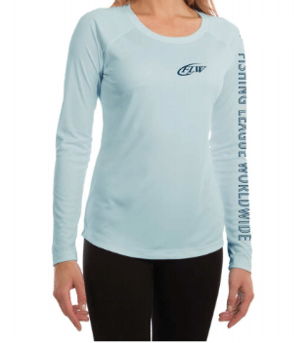 FLW Ladies Solar Long Sleeve - Arctic Blue