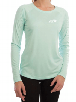 FLW Ladies Solar Long Sleeve - Seagrass