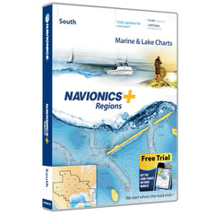 Navionics+ Regions South Map Card