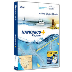 Navionics+ Regions West Map Card