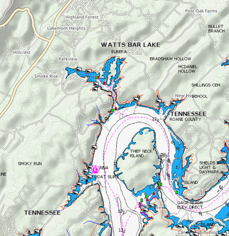 Watts Bar Lake: Sept. 15-16, 2018
