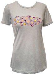 FLW Ladies Floral Bass Tee