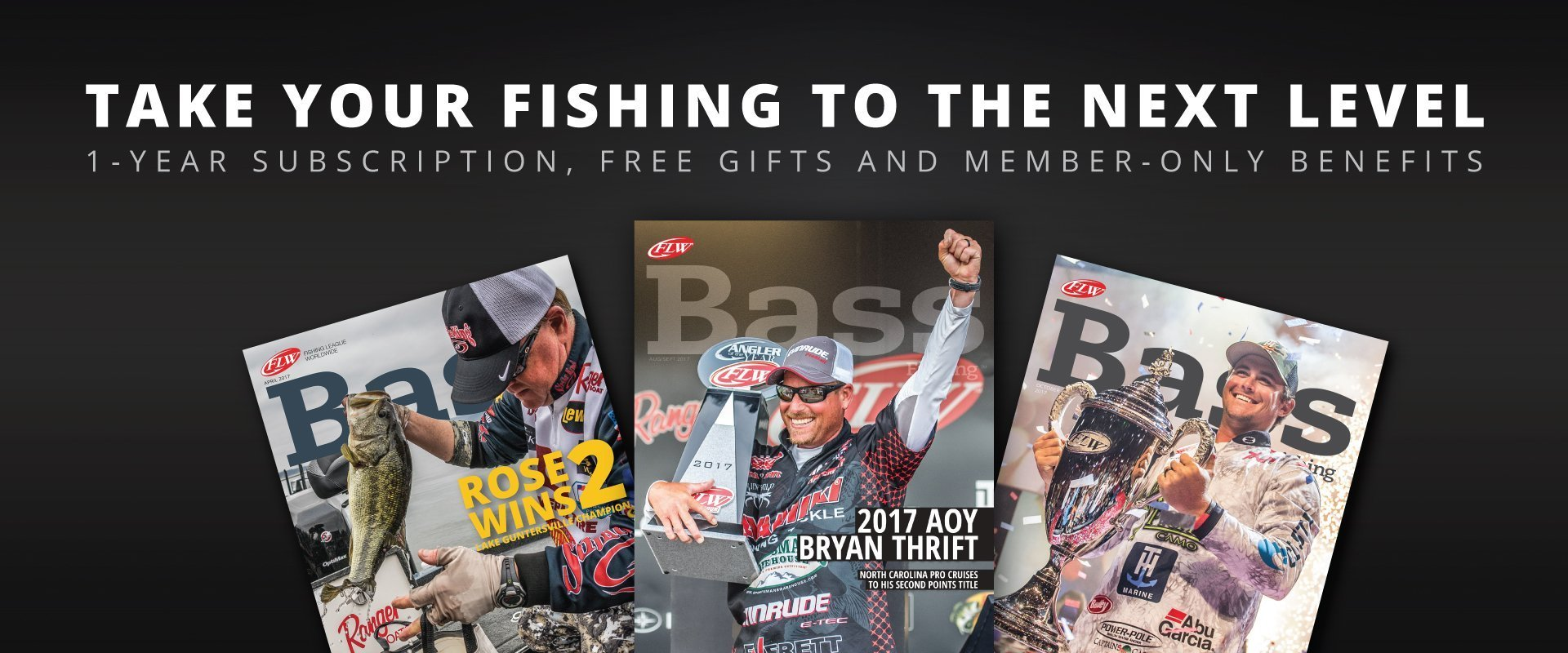 Join FLW Fishing and get the best in bass fishing.