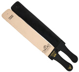 "Professional Quality Sharpening Strop One Side Made of Real Leather and Other  Black Side Is Canvas, 3"" Macs-2010"