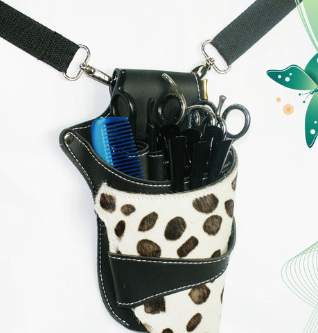 Macs Professional Hair Dressers Scissors Holder Holster /Pouch For Multi And Professional Use-175