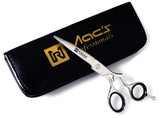 "Macs Professional Barber Razors Edge Hair Cutting Barber Shears Scissors Made Of High Grade Stainless Steel Ergonomic Style handle-6.5""-2028"