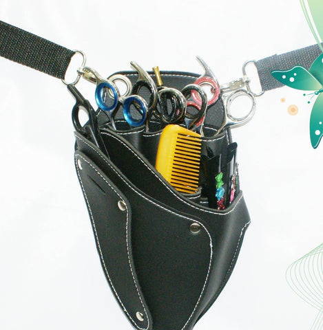 Macs Professional Hair Dressers Scissors Holder Holster /Pouch For Multi And Professional Use Mac-173