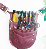 Macs Professional Hair Dressers Scissors Holder Holster /Pouch For Multi And Professional Use Mac-174