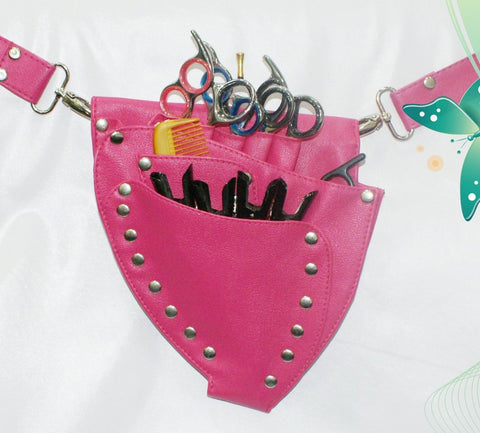 Macs Professional Hair Dressers Scissors Holder Holster /Pouch For Multi And Professional Use Mac-177