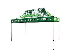 UV Canopy Tent 15ft Full-Color Print