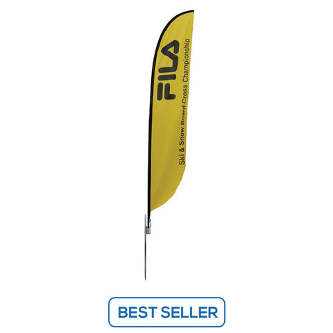 Feather Banner Stand - Medium