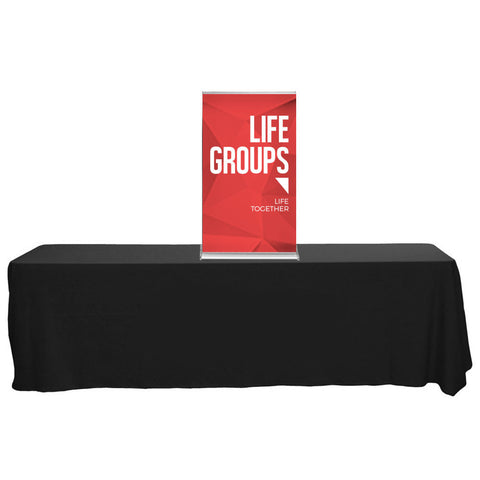 "SilverStep 24"" Table Top Banner"