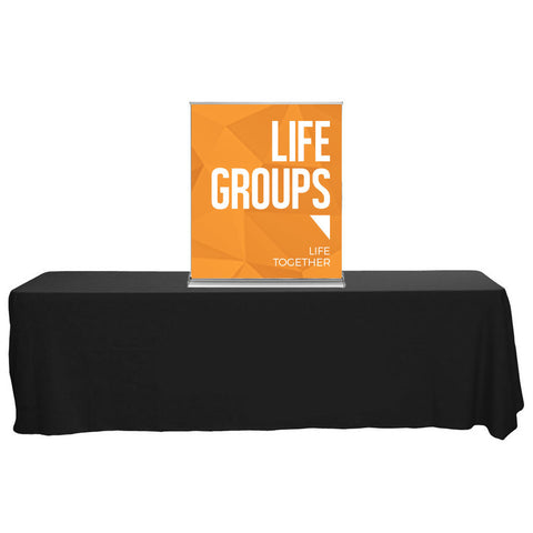 "SilverStep 36"" Table Top Banner"