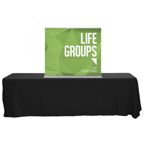 "SilverStep 48"" Table Top Banner"