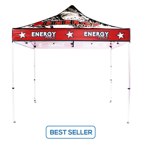 UV Canopy Tent 10ft Full-Color Print