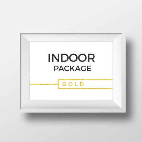 Indoor Package - GOLD