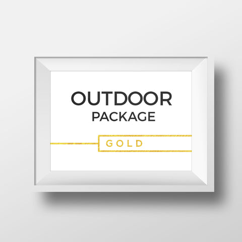 Outdoor Package - GOLD